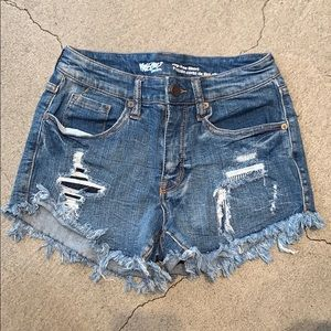 Missimo denim shorts Sz 4/27
